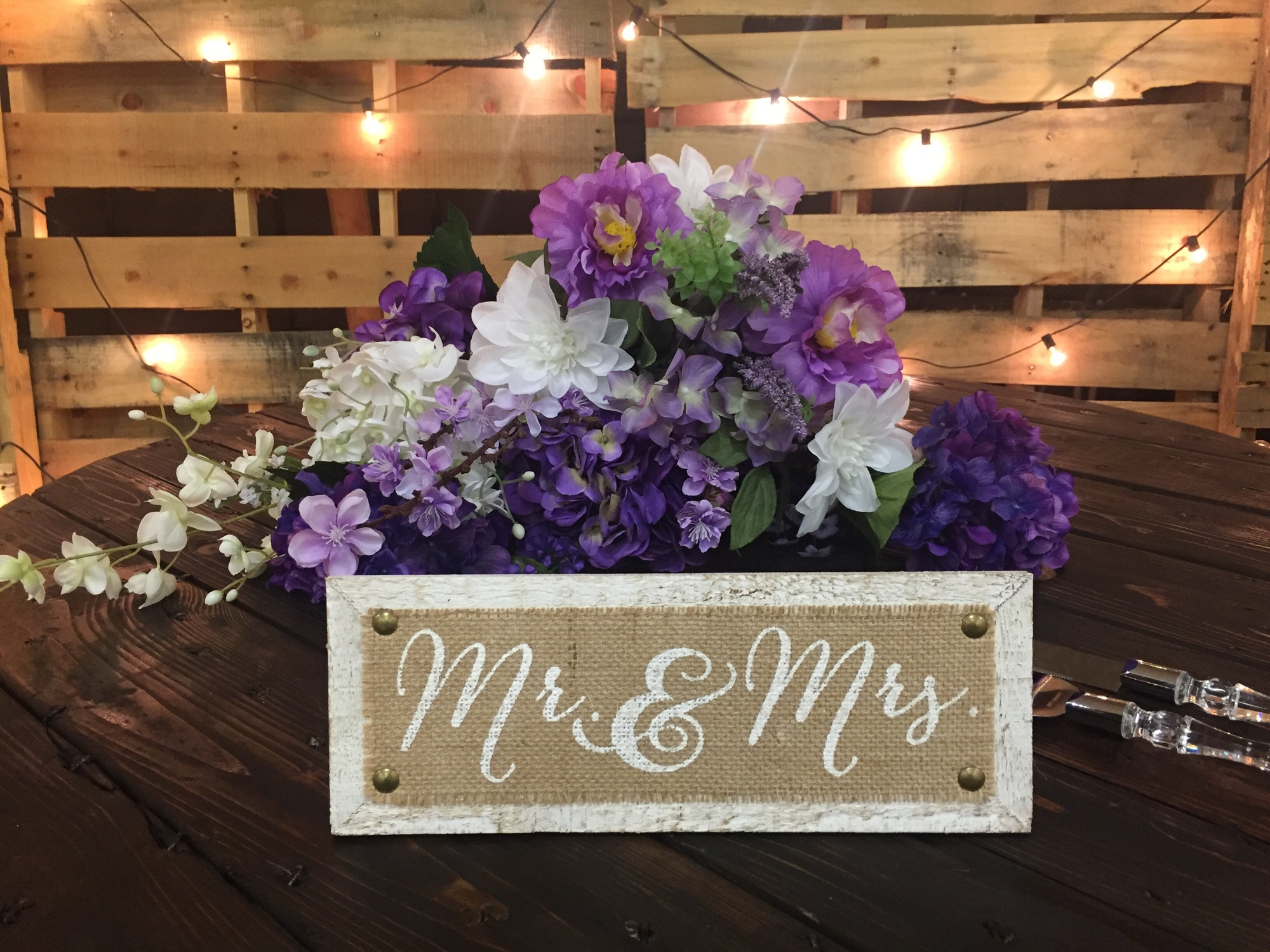 Mr and Mrs wedding
