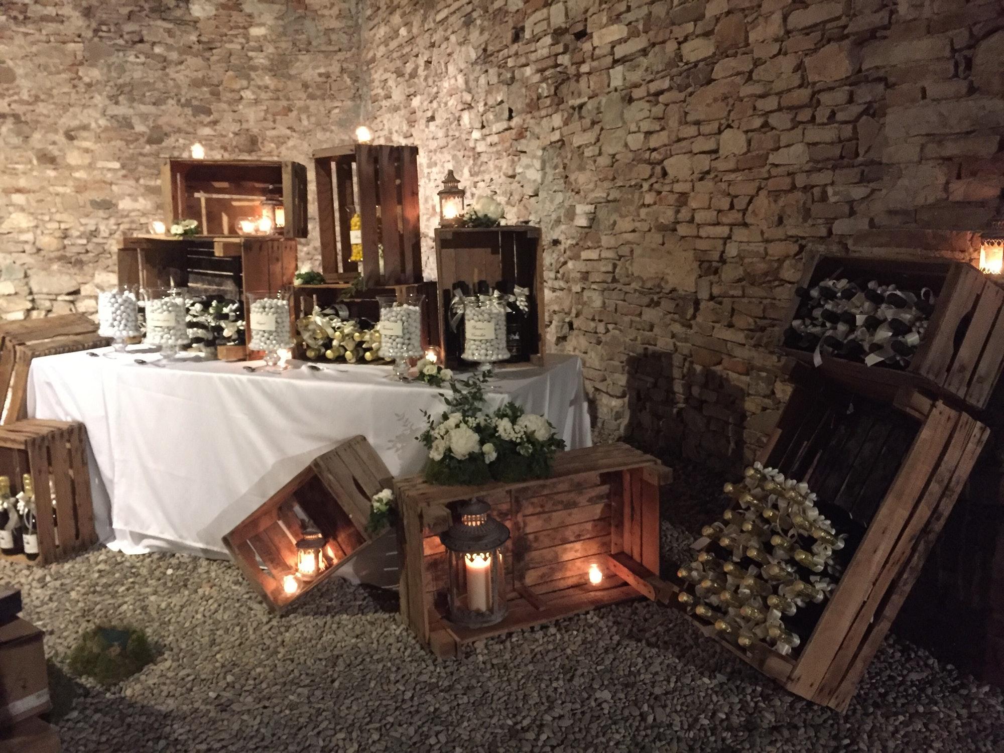 Wedding corner